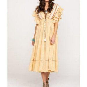 NWT Free people boho gypsy midi dress